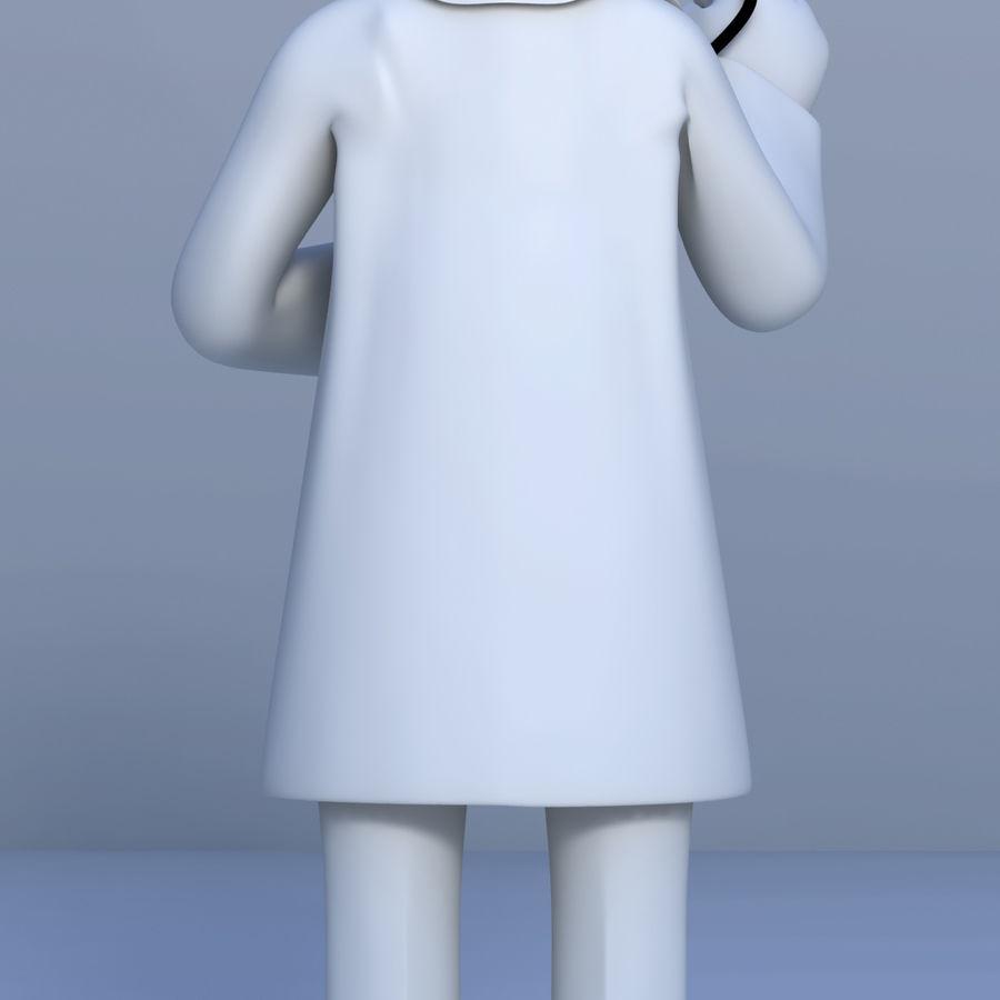医生3D模型 royalty-free 3d model - Preview no. 3