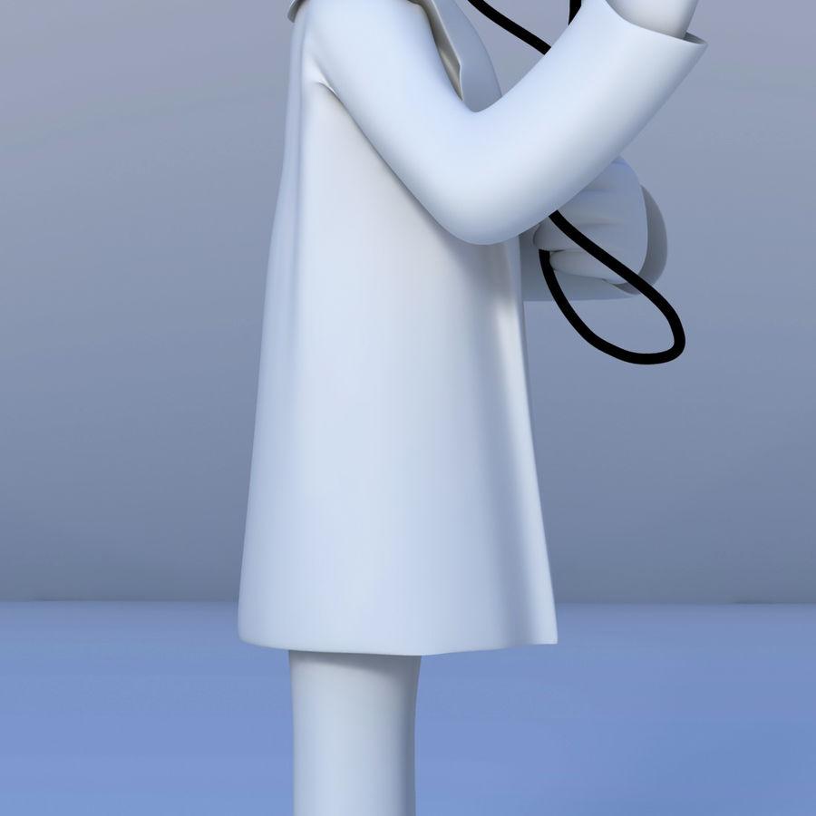 医生3D模型 royalty-free 3d model - Preview no. 2