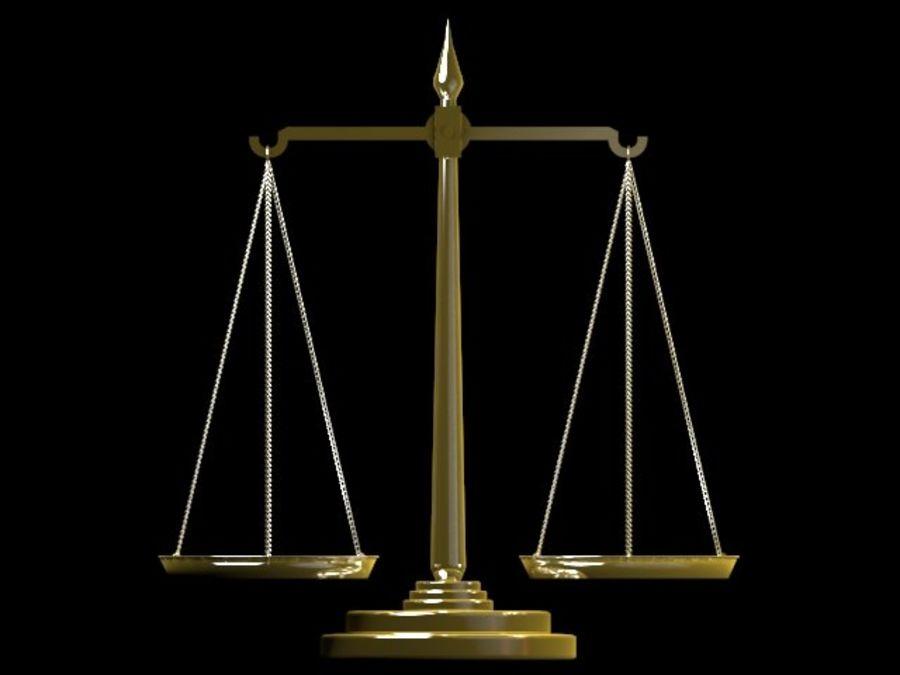 adaletin terazisi 3d model 20 max