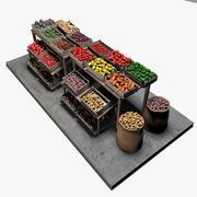 Rynek warzywny 3d model