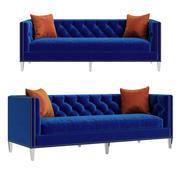 Lillian August for Hickory White Modern Sofa 3d model