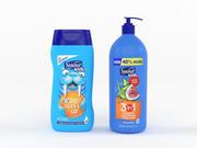 Szampon i odżywka Suave Kids 3d model