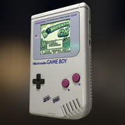 ゲームボーイ 3d model