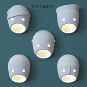 Moooi Party Настенные светильники 3d model