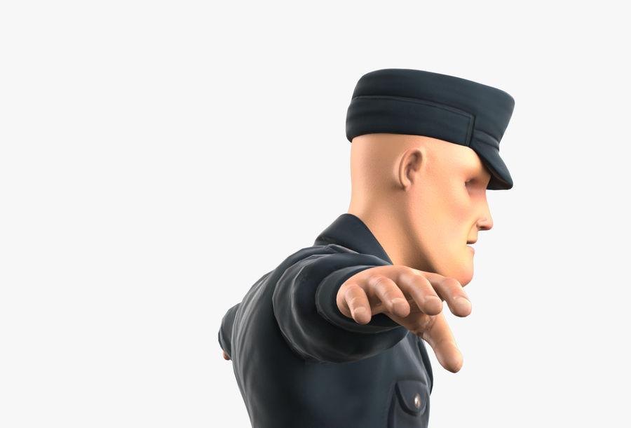 Polis royalty-free 3d model - Preview no. 21