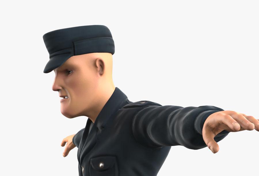 Polis royalty-free 3d model - Preview no. 29