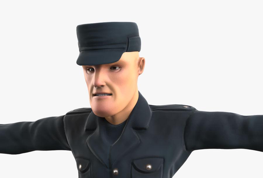Polis royalty-free 3d model - Preview no. 31