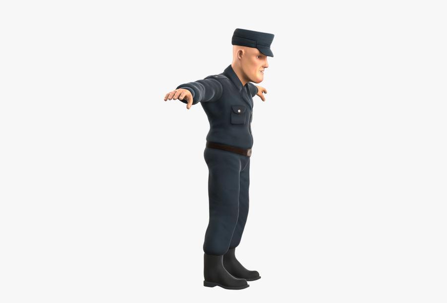 Polis royalty-free 3d model - Preview no. 4