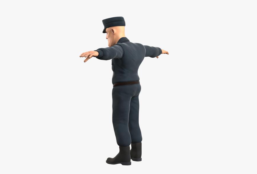 Polis royalty-free 3d model - Preview no. 11