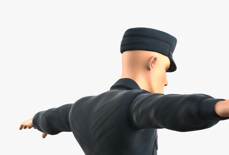 Polis royalty-free 3d model - Preview no. 22
