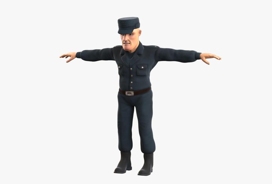 Polis royalty-free 3d model - Preview no. 15