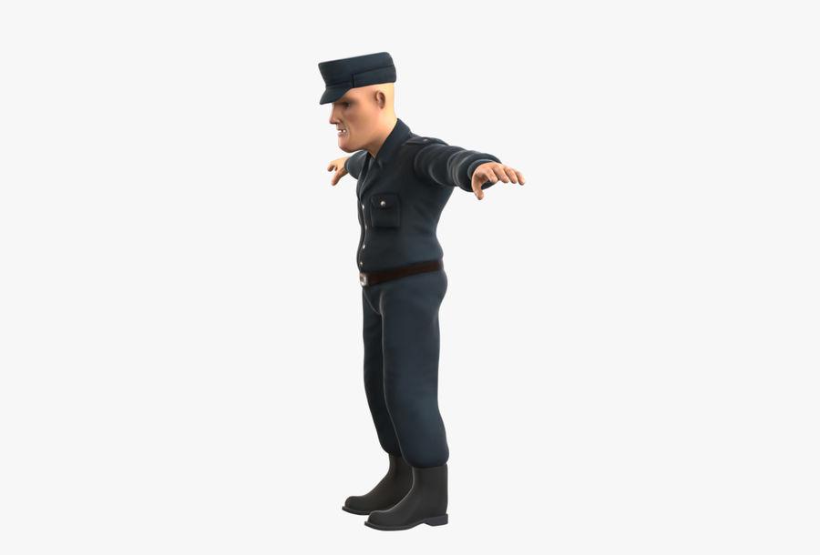 Polis royalty-free 3d model - Preview no. 13