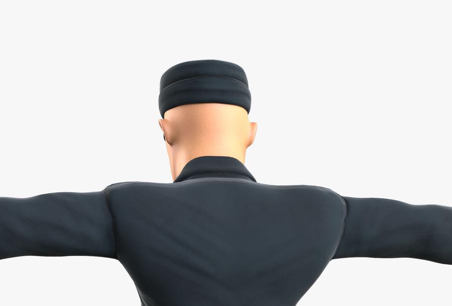 Polis royalty-free 3d model - Preview no. 25