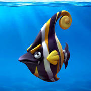 Cartoon Fisch 3d model