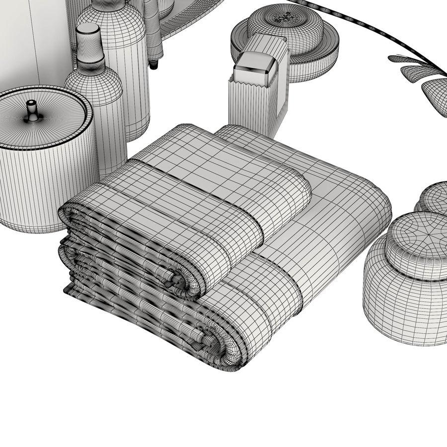 Modern Bathroom Accessories Black 3d Model 29 Unknown Obj Max Free3d