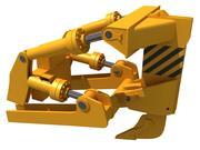 Excavator Fork Bucket 3d model