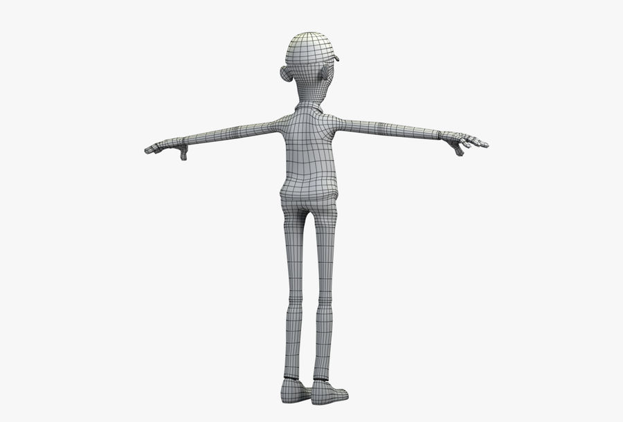 giocatore royalty-free 3d model - Preview no. 42