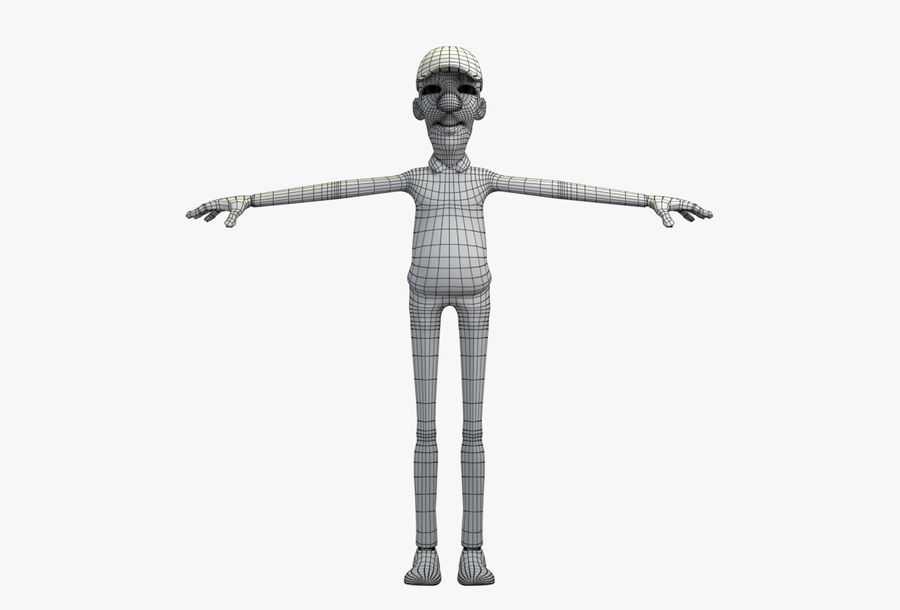 giocatore royalty-free 3d model - Preview no. 35