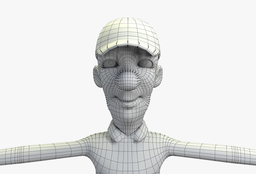 giocatore royalty-free 3d model - Preview no. 68