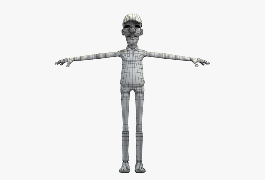 giocatore royalty-free 3d model - Preview no. 51