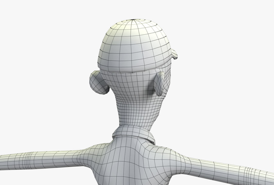 giocatore royalty-free 3d model - Preview no. 59