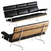 Herman Miller_Eames Sofa 3d model