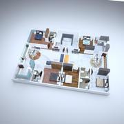 Piano terra 3d model