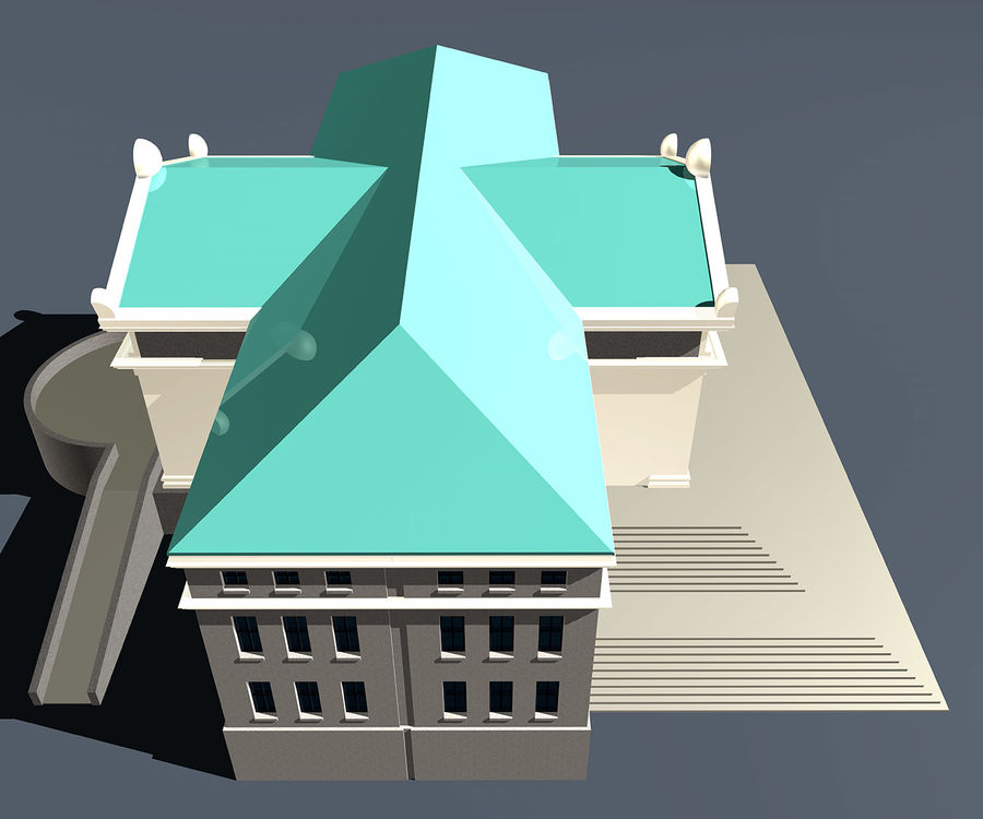 Museo royalty-free 3d model - Preview no. 8