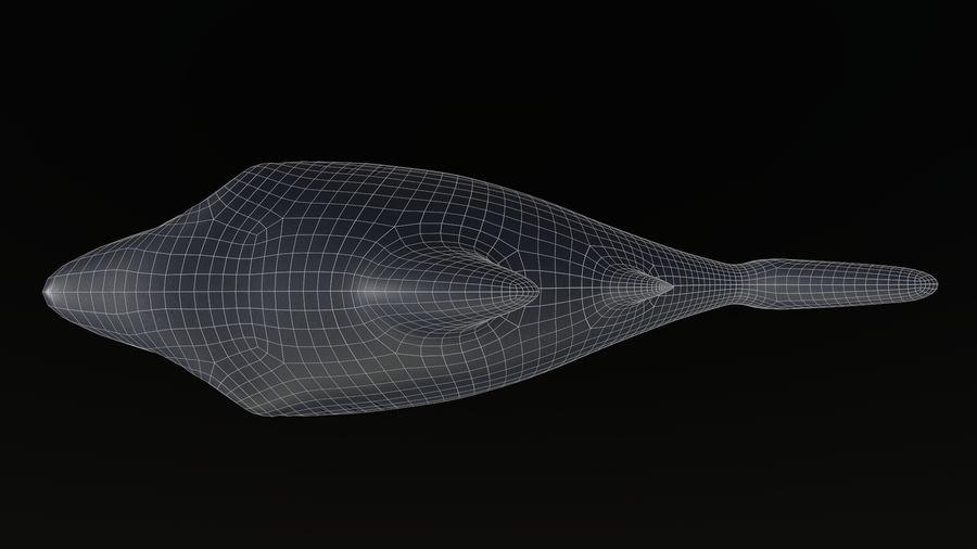 Asset - Cartoons - Animal - Shark royalty-free 3d model - Preview no. 10