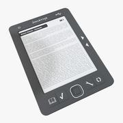 Dijital kitap okuyucu 3d model