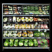 Schappen met groenten 2 3d model