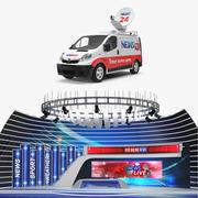 Aktualności Kolekcja modeli 3D Van i Studio 3d model