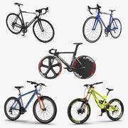 Bisikletler 3D Modeller Koleksiyonu 3 3d model