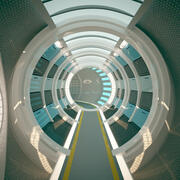 Korytarz Science Fiction 3d model