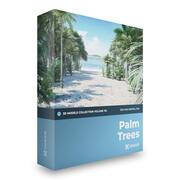 Collezione di modelli 3D di palme Mental Ray 3d model