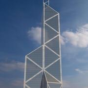 Здание Банка Китая 3d model