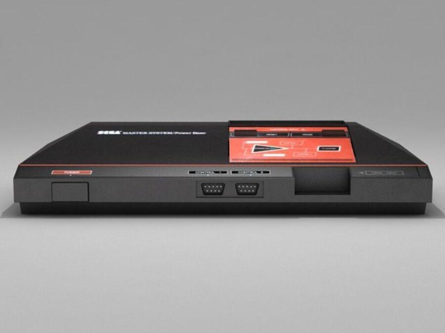 Sega consoles vol 1 royalty-free 3d model - Preview no. 23