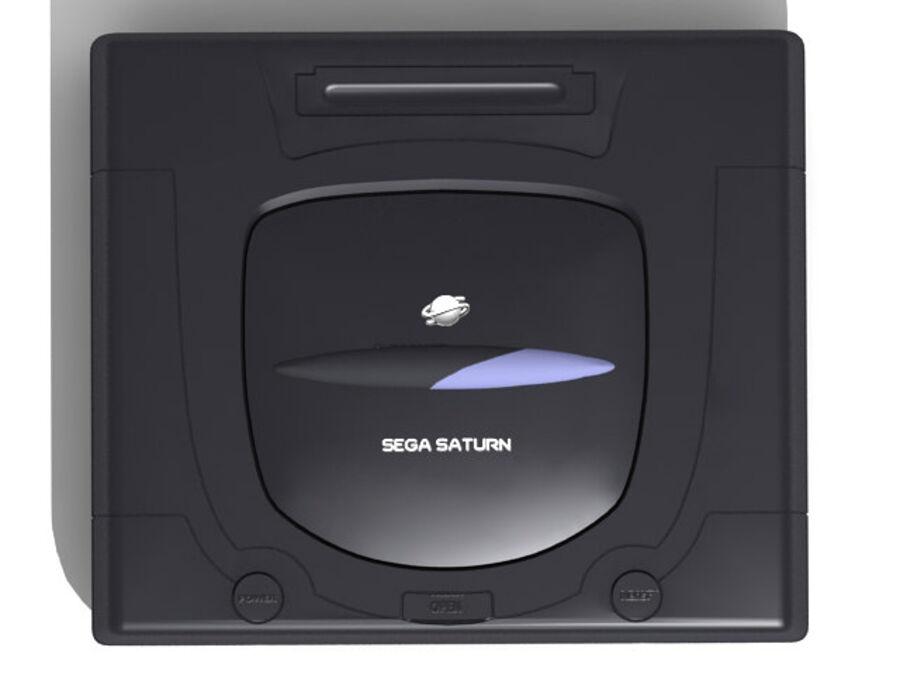Sega consoles vol 1 royalty-free 3d model - Preview no. 32