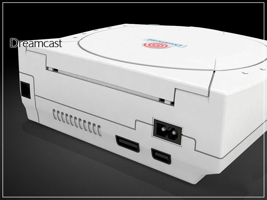Sega consoles vol 1 royalty-free 3d model - Preview no. 5