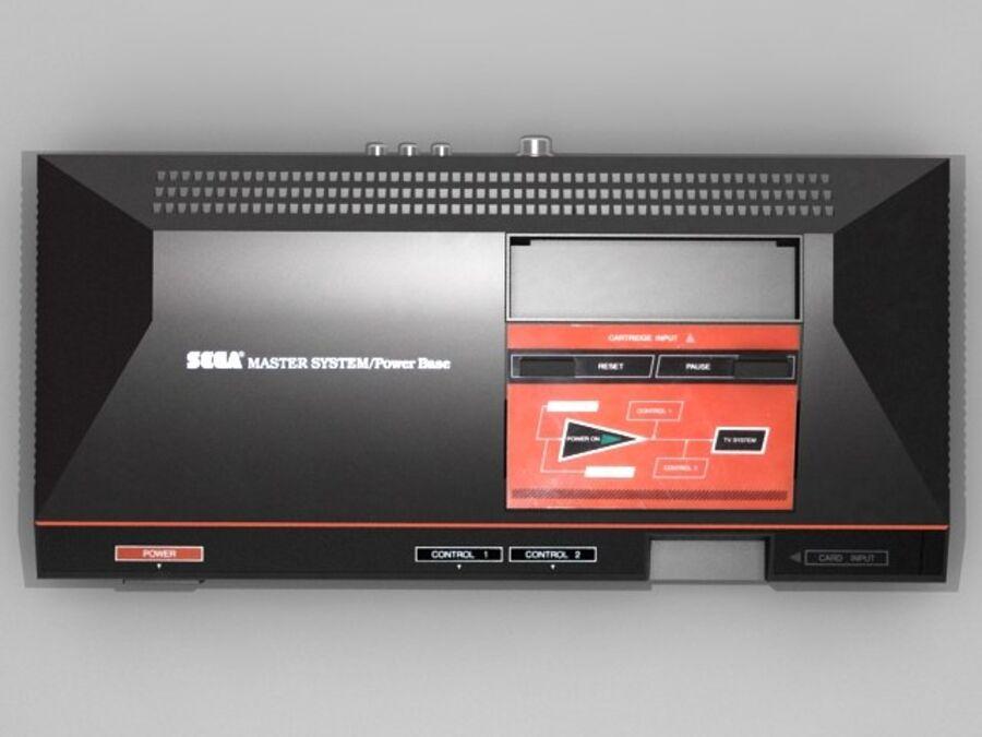 Sega consoles vol 1 royalty-free 3d model - Preview no. 22