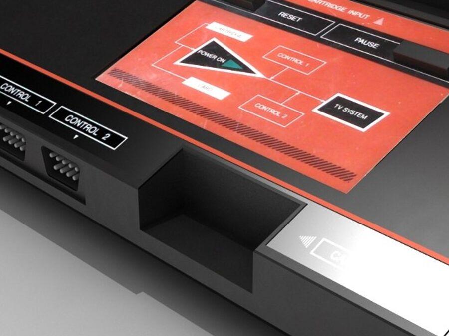 Sega consoles vol 1 royalty-free 3d model - Preview no. 25