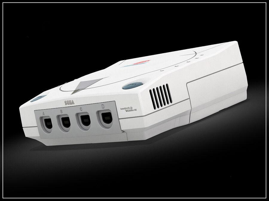 Sega consoles vol 1 royalty-free 3d model - Preview no. 3