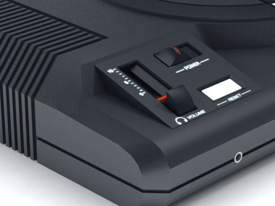 Sega consoles vol 1 royalty-free 3d model - Preview no. 13