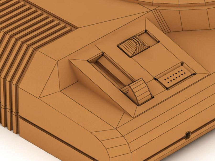 Sega consoles vol 1 royalty-free 3d model - Preview no. 18