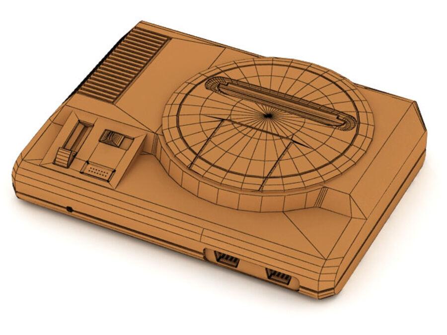 Sega consoles vol 1 royalty-free 3d model - Preview no. 17