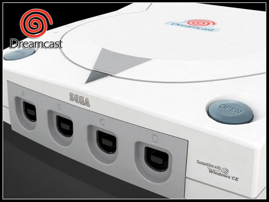 Sega consoles vol 1 royalty-free 3d model - Preview no. 9