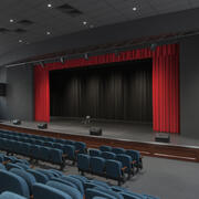 Assembly Theatre Hall 3d model