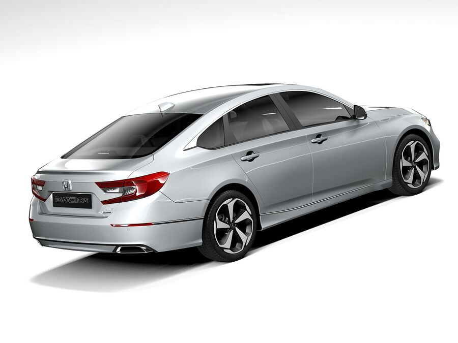 Honda Accord 2020 royalty-free 3d model - Preview no. 5