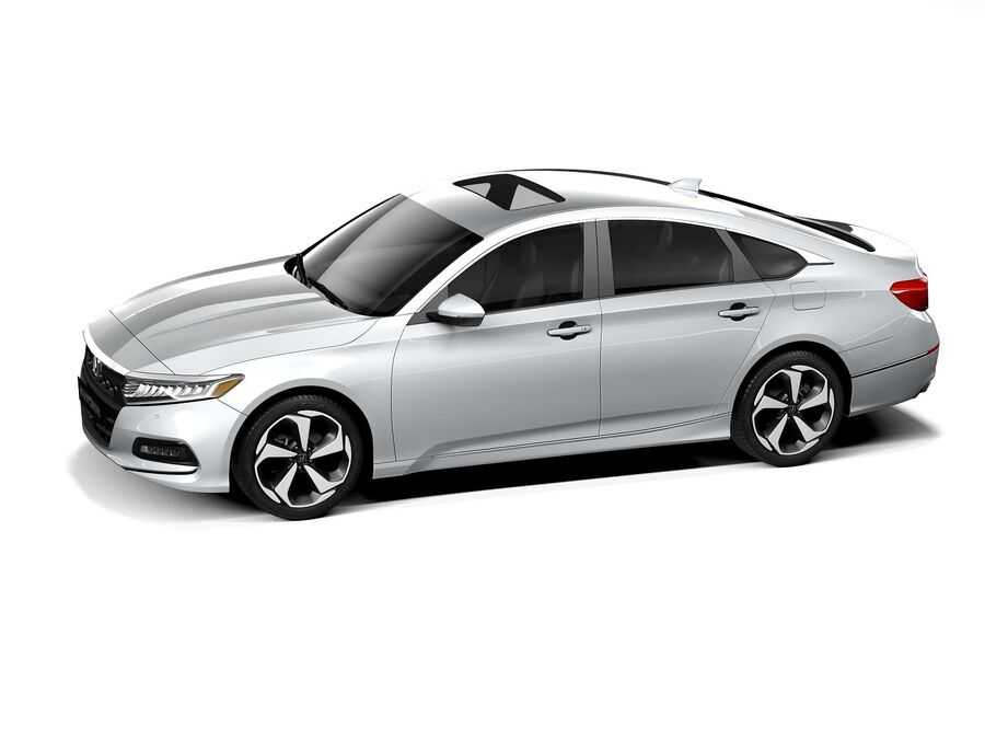 Honda Accord 2020 royalty-free 3d model - Preview no. 12