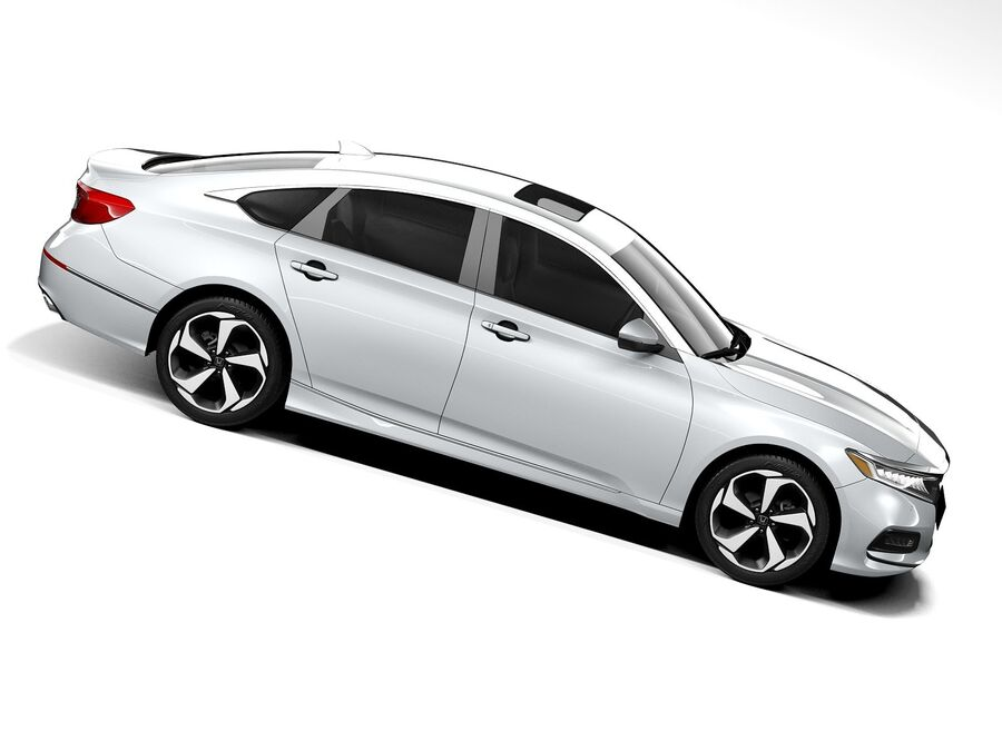 Honda Accord 2020 royalty-free 3d model - Preview no. 7